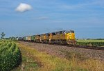 UP 8034 heads west in Dixon,IL