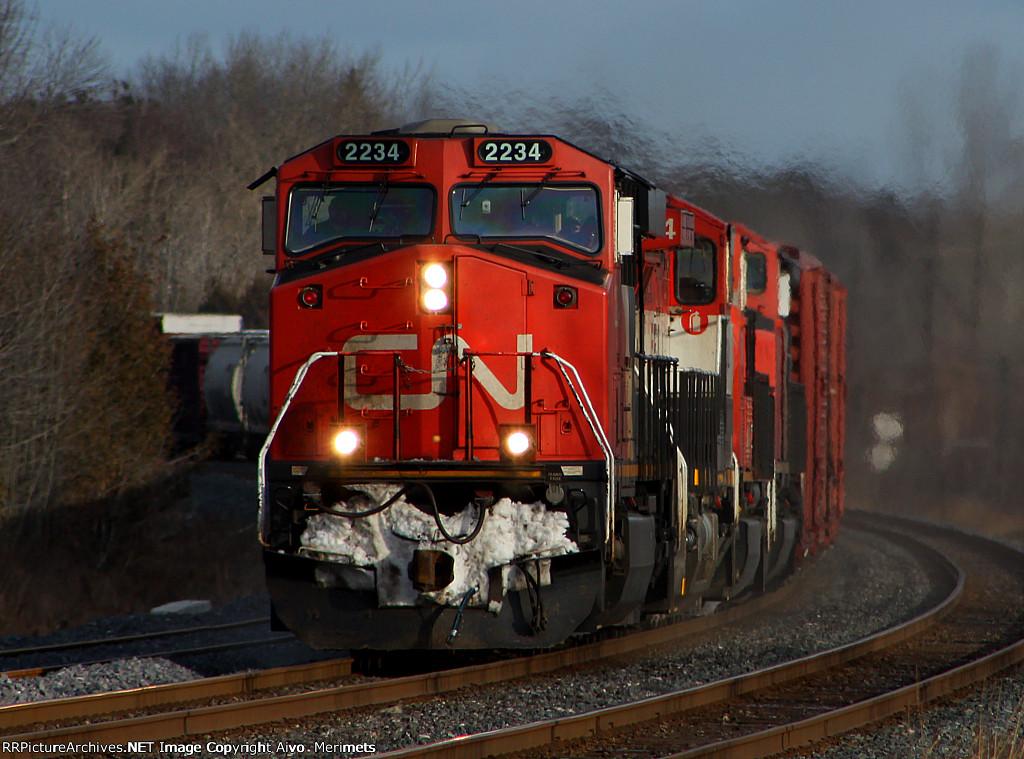 CN 369 at Mile 260 Kingston Sub