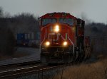 CN 5671 west at Mile 260 Kingston Sub