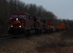 CP 8518 east at Spicer