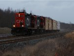 CN 7027 west at Mile 260 Kingston Sub