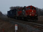 CN 7058 east at Mile 260 Kingston Sub