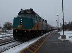 VIA 57 arriving into Cobourg