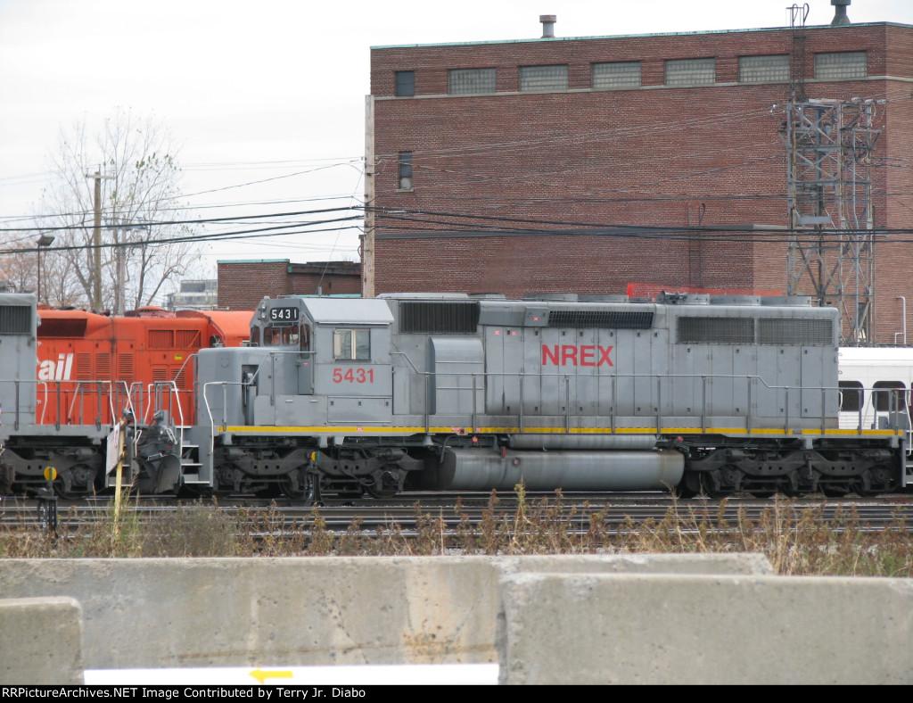 NREX 5431 at St. Luc