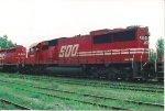 SOO SD 60 6054 at Adirondack Jct.