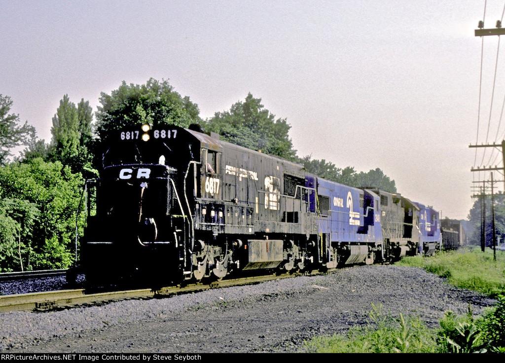CR 6817 U25C CP7 River Line