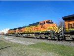 BNSF C44-9W 4421