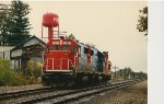 Two Engines and a Caboose
