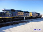 CSX 6932 and 2298