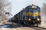 Westbound ICE Freight with 8 SD40's!