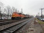 BNSF EB Coal Loads