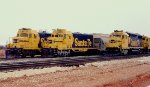 Three Train Meet