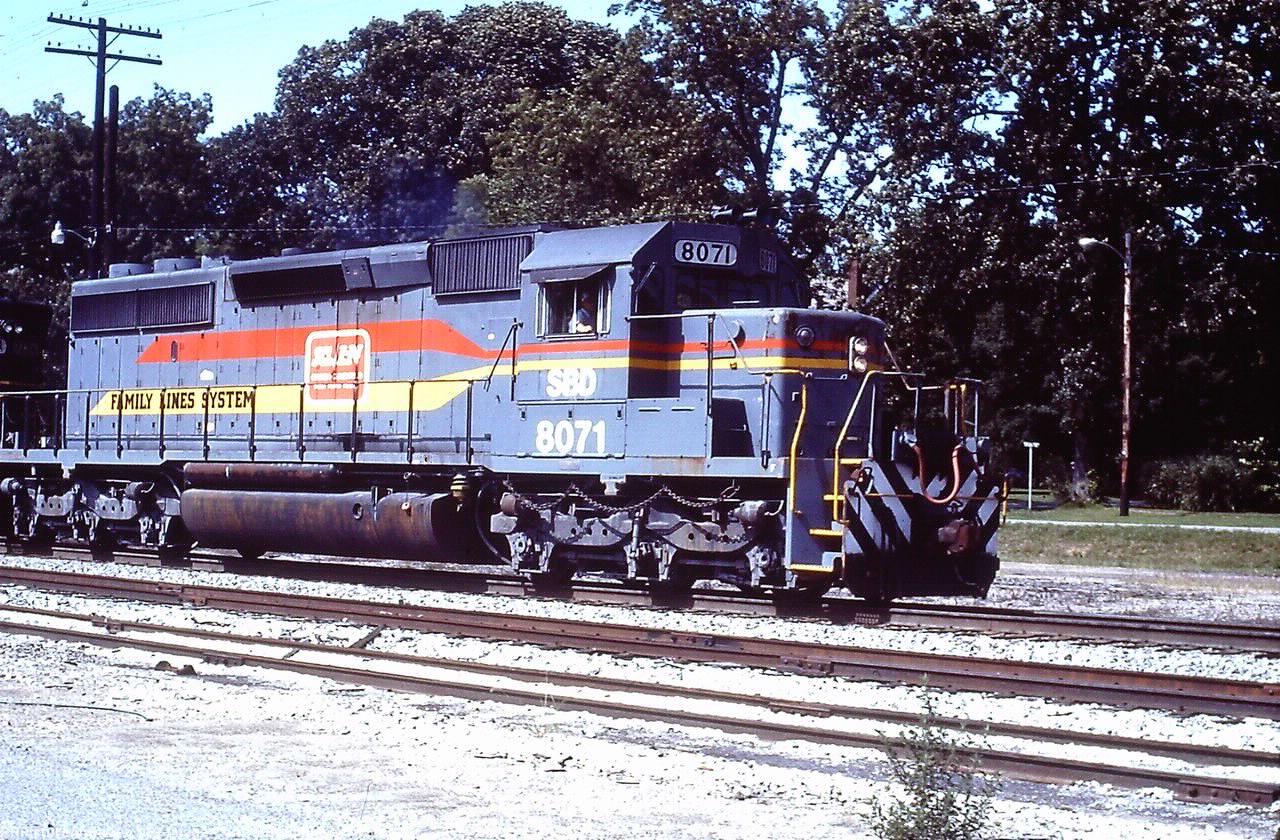 SBD 8071 SD40-2
