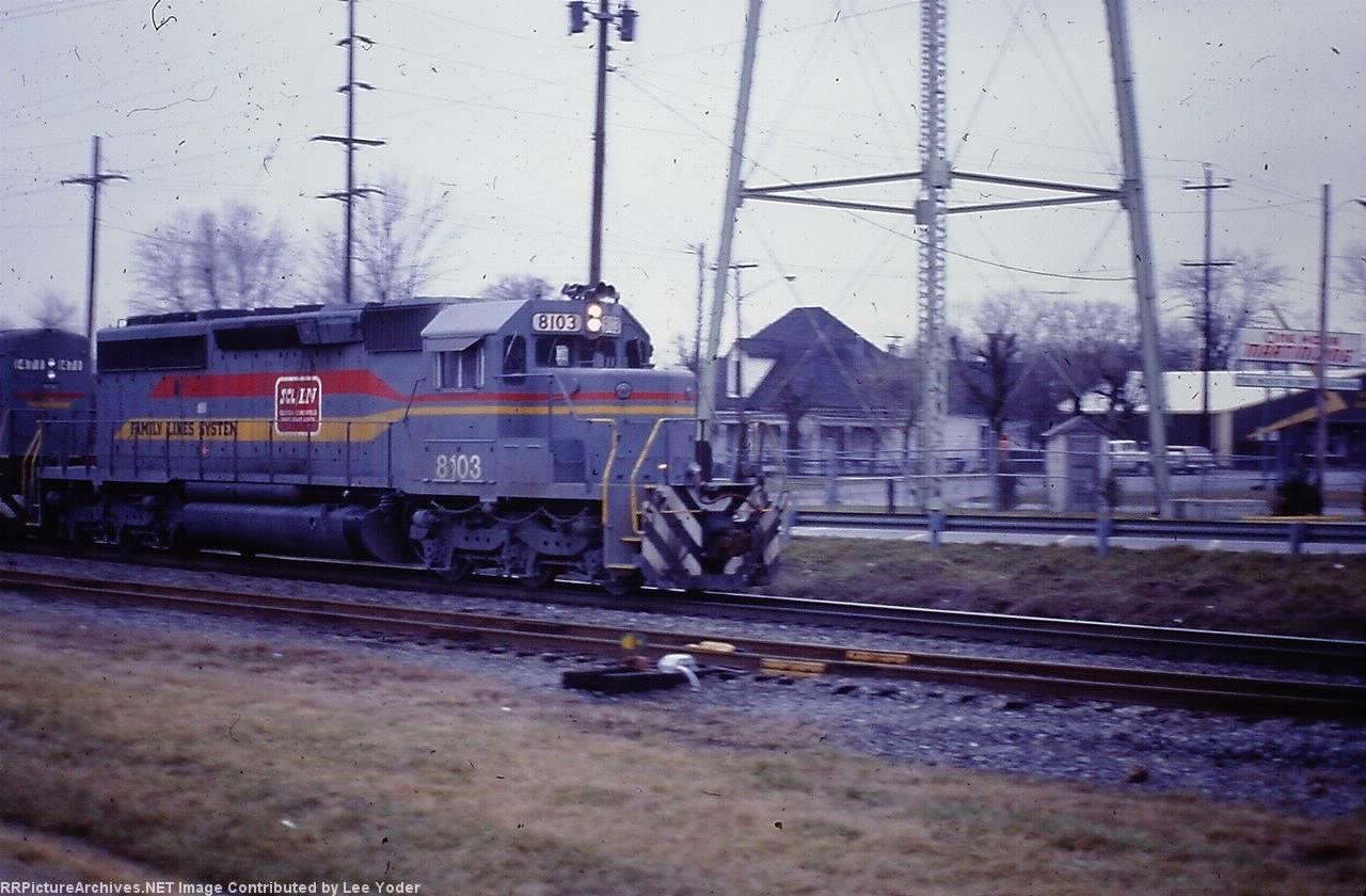 SBD 8103 SD40-2