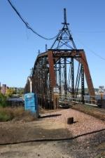 Dubuque swing bridge