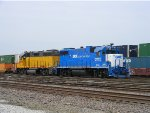 GMTX 2144 and LLPX 2213 Sit in the Yard at Dupo IL