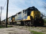 CSX Train Waiting to Enter South End of Boyles Yard