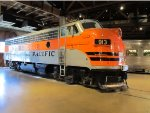 Western Pacific #913 at the Roseville Train Museum