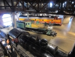 Locomotives in the California State Railroad Museum