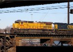 EX UP 9058 CSX S301