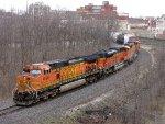 BNSF 4098 NS 39G
