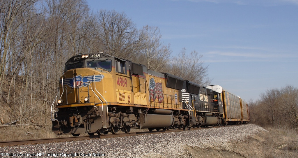 UP 4969 SD70M