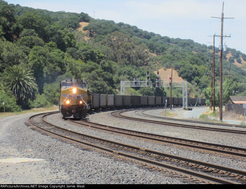 Union Pacific Coal Train in Martinez