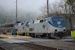 Amtrak 6 in Martinez