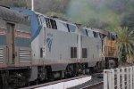 Amtrak 11 Departs Martinez