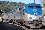 Amtrak 6 in Martinez