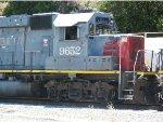 SSW 9652 at the Ozol Yard