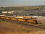 SD40s and a GEVO at Benicia