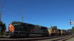"UP 1983 ""Western Pacific Proud Heritage"" and SD70M Helpers"