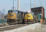 CSX 8726 Q703 and CSX 8748 Q373