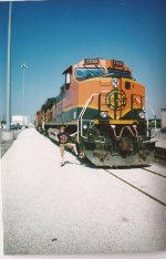 Me with BNSF 1108