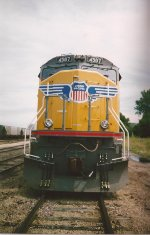 (then) Brand New Union Pacific SD70M!