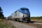 Train 351 going away