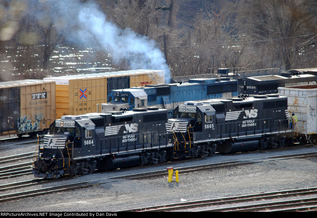 Consecutively numbered rebuilds on NS H11