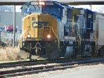 CSX 4511 leads ATN train with grain loads
