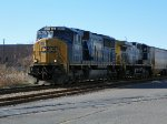 CSX 4511 & 12 with grain for the ATN
