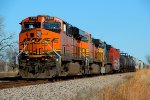 BNSF 7299 siding West Verdigris Ok.
