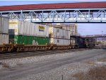 NS 9655 Leads a Eastbound Intermodal