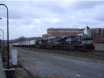 NS 7606 Leads Eastbound Intermodal