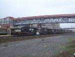 NS 9784 Leads Westbound Intermodal