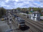 NS 9907 Leads Eastbound Manifest past ALTO