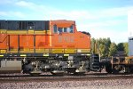 Side Cab Shot of BNSF 6762 as the #4 unit behind BNSF 7565.