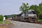 NS 2758 southbound