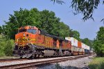 BNSF 4955 southbound