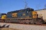 CSX 4016 southbound