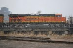 BNSF 6438 It's Starting To Snow